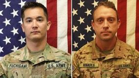 US identifies service members killed in Afghanistan chopper crash