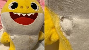 'Baby Shark' toy saves Wisconsin toddler's life after stray bullet pierces bedroom wall, police say