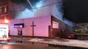 Washington Park church damaged in overnight fire