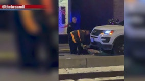 Woman run over by CPD vehicle in South Shore, leaving her critically hurt