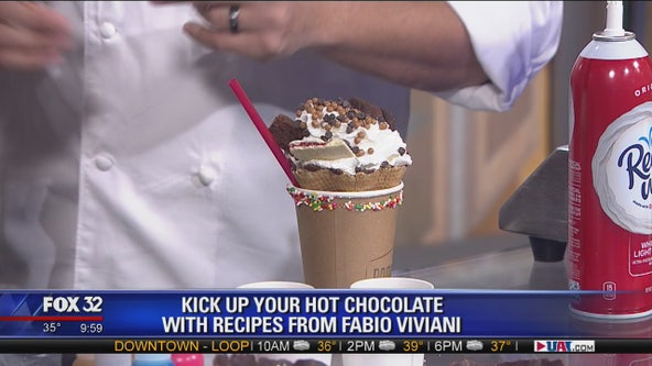 Take your hot chocolate to the next level