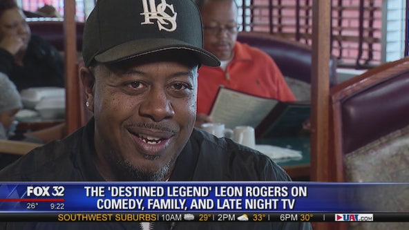 'The Destined Legend' Leon Rogers on comedy, family, and late night TV