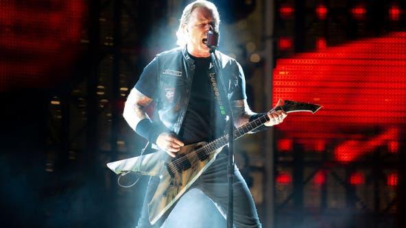 "Metallica announces ""pop-up"" concert Monday in Chicago"