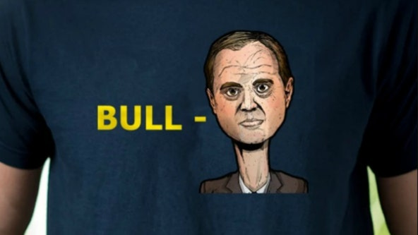 Trump campaign selling 'Bull-Schiff' t-shirts as impeachment hearings roll on
