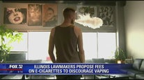 Illinois lawmakers propose fees on e-cigarettes to discourage vaping