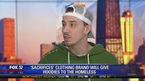 """Sacrifices"" clothing brand will give hoodies to the homeless"