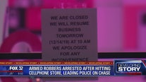 Armed robbers arrested after hitting Frankfort cellphone store, leading police on chase