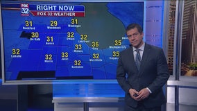 6 p.m. forecast for Chicagoland on Dec. 2