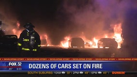 38 vehicles set on fire in Gresham, West Pullman