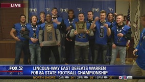 Lincoln-Way East defeats Warren for 8A State Football Championship