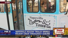 Naperville trolley brings holiday cheer throughout the western suburb