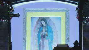 Worshipers make annual pilgrimage to shrine of Our Lady of Guadalupe in suburban Chicago