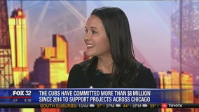 Cubs Charities giving back to children, families all across the world