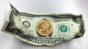 $1,600 gold coin dropped into Salvation Army kettle in Naperville by anonymous donor