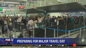 O'Hare Airport buckles down for major travel day ahead of Christmas