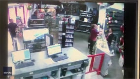 Pawn shop manager catches baby falling off store's counter