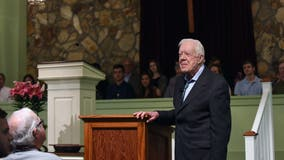 President Jimmy Carter admitted to a south Georgia hospital