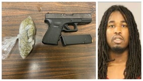 Police say they found pot and a gun inside car after chase near Gary