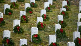 Millions of wreaths to be placed on military gravestones across the country — here's how you can get involved
