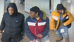 Police looking for 3 suspects who beat, robbed man on CTA platform