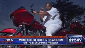 Hit-and-run driver arrested after fatally striking motorcyclist on Bishop Ford: police