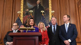 House Democrats announce abuse of power, obstruction of Congress articles of impeachment against Trump