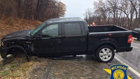 'Don't smoke and drive': On 1st day of legalized pot, state police SUV hit by driver under influence