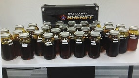 Over $2 million worth of THC oil, wax confiscated during 3 Will County traffic stops: sheriff