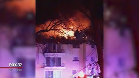 30 families displaced after fire at Skokie apartment building
