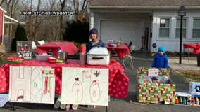South Jersey boy's cocoa stand raises thousands for CHOP, Toys for Tots