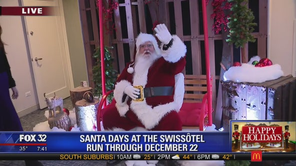 Santa takes over suite at Swissotel Chicago