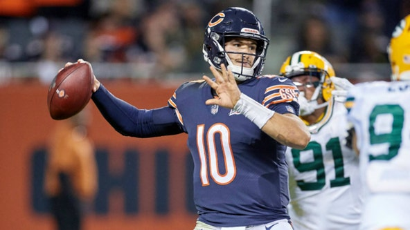 Trubisky rides Bears' win streak into Packers rematch