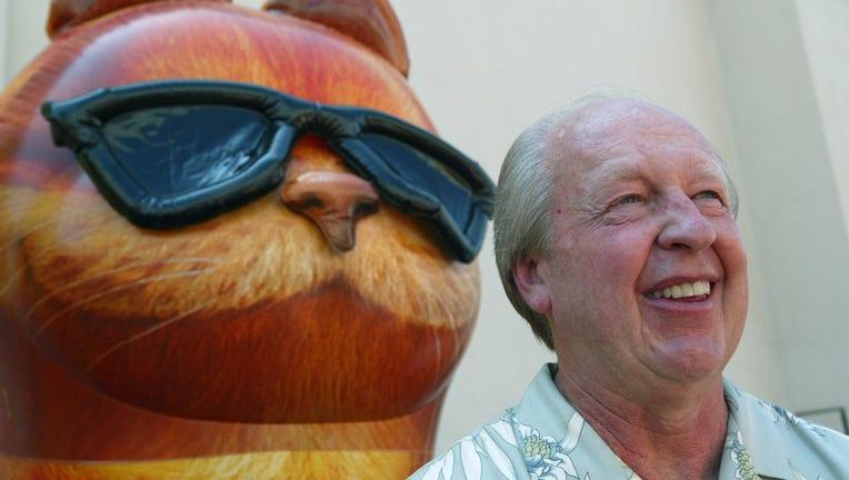 Garfield comic strip creator Jim Davis