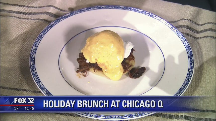 Holiday brunch gets royal treatment at Chicago Q