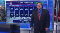 6 p.m. forecast for Chicagoland on Jan. 24