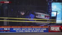 Shots fired at police leads to chase ending on North Side: reports