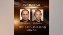 Shooting kills 2 officers before Hawaii homes catch fire