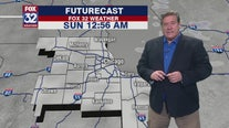 Saturday night forecast for Chicagoland on Jan. 25th