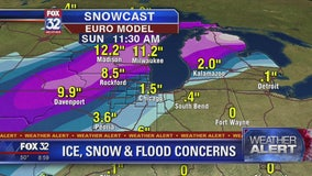 Winter storm watch in Chicago warns of possible 20-foot waves, 3 inches of snow