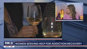 Women seeking help for addiction recovery