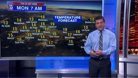 Chicagoland 9 p.m. weather: Jan. 19, 2020