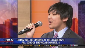 Ethan Radaza sings 'Misty' live on Good Day Chicago
