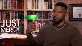 Actor Jamie Foxx on dealing with racism as a celebrity