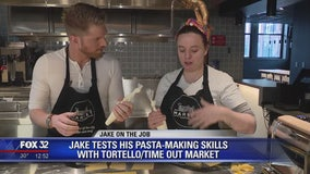 Jake on the Job: Making pasta with Tortello