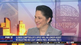Susana Mendoza talks policy change in red-light fine collection