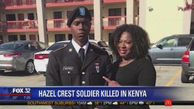Family travels to receive body of fallen U.S. soldier from Hazel Crest