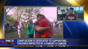 Camp Kesem dedicated to supporting children impacted by parent's cancer