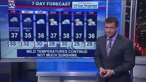 10 p.m. forecast for Chicagoland on Jan. 23