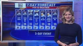 Morning forecast for Chicagoland on Jan. 23rd