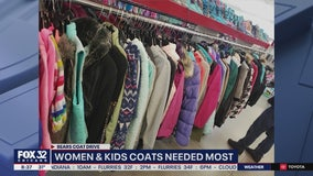 Donations needed for 31st annual Chicago Bears Coat Drive